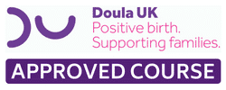 DOULA UK APPROVED COURSE LOGO