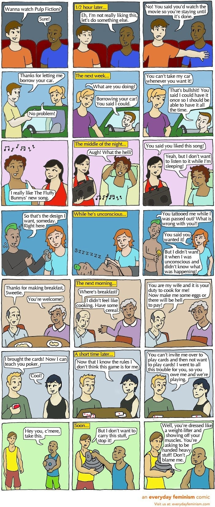 cartoon about consent