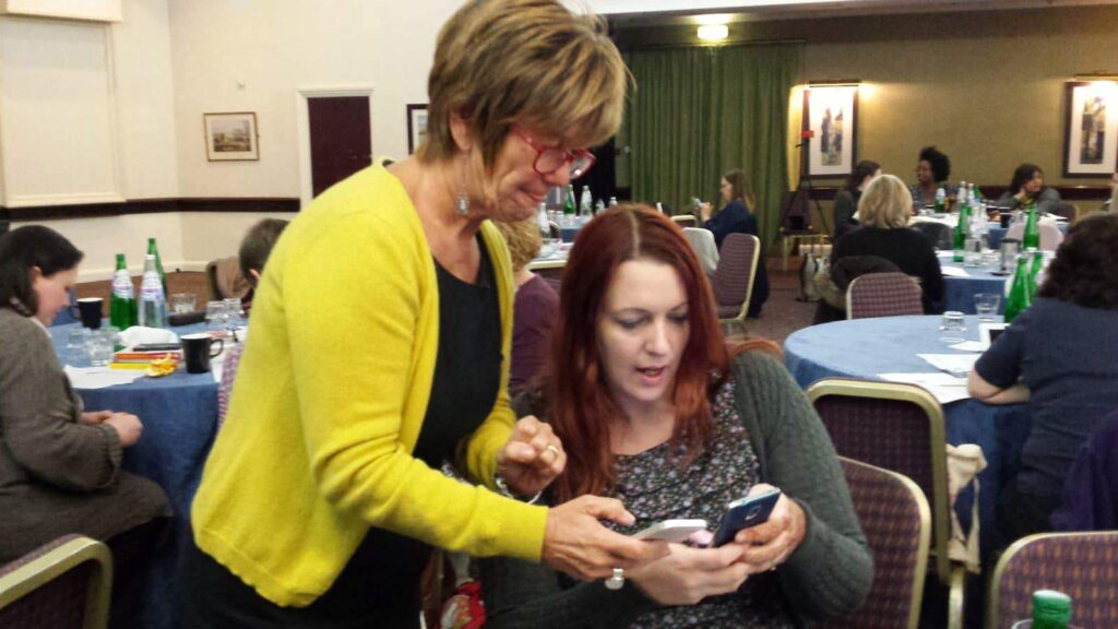 A midwife and a doula look at twitter